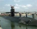 Американская атомная подводная лодка столкнулась с японским кораблем