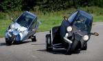 CARVER ONE - гибрид автомобиля и мотоцикла