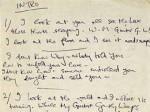 Автограф песни The Beatles оценен в 780 тысяч долларов