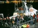 В Италии паром столкнулся с грузовым судном