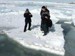 Трое сахалинских подростков спасены с дрейфующей льдины