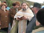 Освящение криницы и креста в п. Атаева