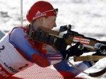 Российская биатлонистка взяла серебро в гонке преследования
