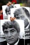 Похороны убитого журналиста в Стамбуле