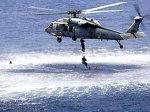 Вертолет ВМС США упал в Тихий океан
