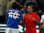 Марко Матерацци получил удар головой в подбородок