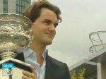 Федерер покажет свой трофей всему миру