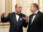 Ширак выменял у Алиева орден и ковер