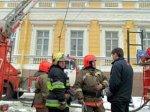 В Санкт-Петербурге в здании Главного штаба пожар уничтожил часть кабинетов командования