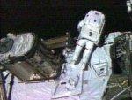 Во время выхода космонавтов в космос на МКС произошла утечка жидкого аммиака