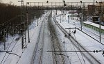 В Кировской области сошел с рельсов поезд