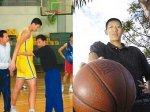 Китаец-гигант стал самым высоким игроком в истории баскетбола