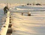 Вслед за Омской областью желтый снег накрыл и Томскую