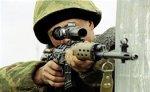В городе Малгобек идет бой с засевшими в жилом доме боевиками