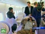 Самолет-рекордсмен впечатлил журналистов