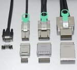 Фотографии разъемов PCI Express External Cabling 1.0