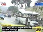 В Ливане взорваны два автобуса