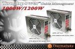 Блоки питания Thermaltake Toughpower мощностью 1 кВт и 1200 Вт