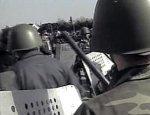 Полиция разогнала митинг у посольства Ирана в Баку