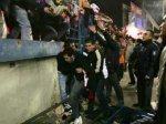 Мадридская полиция разогнала футбольных фанатов резиновыми пулями