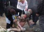 Неизвестный совершил акт самосожжения перед киргизским парламентом