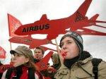 Увольнения в Airbus обернулись массовой забастовкой