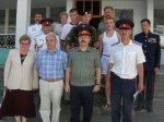 Визит В.П.Водолацкого в Усть-Белокалитвинский казачий юрт