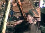 Спасатели достали украинского рабочего из-под обрушившихся перекрытий