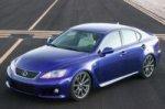 Lexus готовится к европейской премьере заряженной модели IS-F
