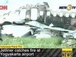 Из загоревшегося на Яве самолета спасены 76 человек