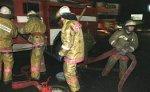В Томске горит торговый центр: есть угроза обрушения