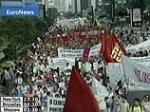 Бразилия встречает Буша акциями протеста: 17 раненых