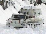 Транскавказскую автомагистраль очистили от снега и открыли для движения