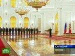 Путин принял в Кремле высших офицеров