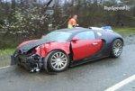 В Великобритании разбился Bugatti Veyron стоимостью более 1,6 млн долларов