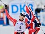 Бьорндален выиграл гонку преследования в Холменколлене