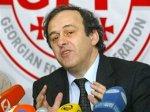 Платини пообещал Тбилиси финал Кубка УЕФА