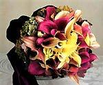 Как подобрать цветы к не традиционной свадьбе