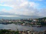 В порту Владивостока сгорел танкер