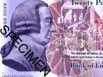 Банк Англии выпустил банкноту с изображением экономиста Адама Смита