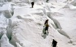 Московские альпинисты укрылись в пещере в ожидании спасателей