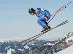 Вылетевший с трассы горнолыжник пробил две линии безопасности
