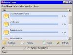 ExtractNow 4.38: быстрая распаковка файлов