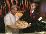 В Нью-Йорке албанец приготовил самую роскошную в мире пиццу стоимостью 1000 долларов