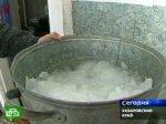 Жители Хабаровского края готовят еду из талого снега