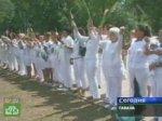 «Дамы в белом» вышли на митинг