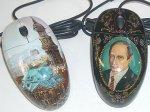 Россияне привезли на CeBIT мышки с портретами Путина и расписные клавиатуры