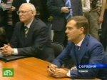 Медведеву показали роботов, играющих в футбол