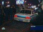 В центре Москвы пять человек сгорели в автомобиле