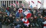 Милиция оттесняет оппозиционеров от площади в центре Минска
